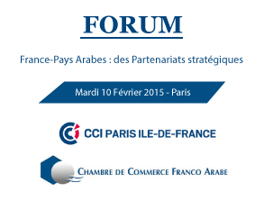 Forum france pays arabes des partenariats strat giques for Chambre de commerce franco arabe paris